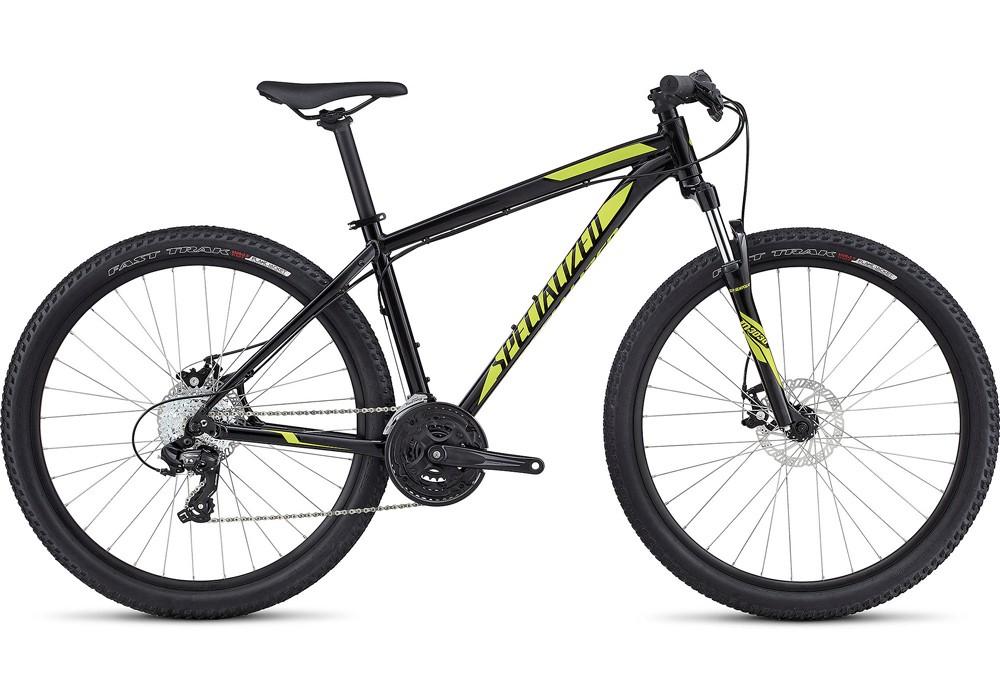 Bicicleta Hardrock Disc 650b Preta/Verde 2017