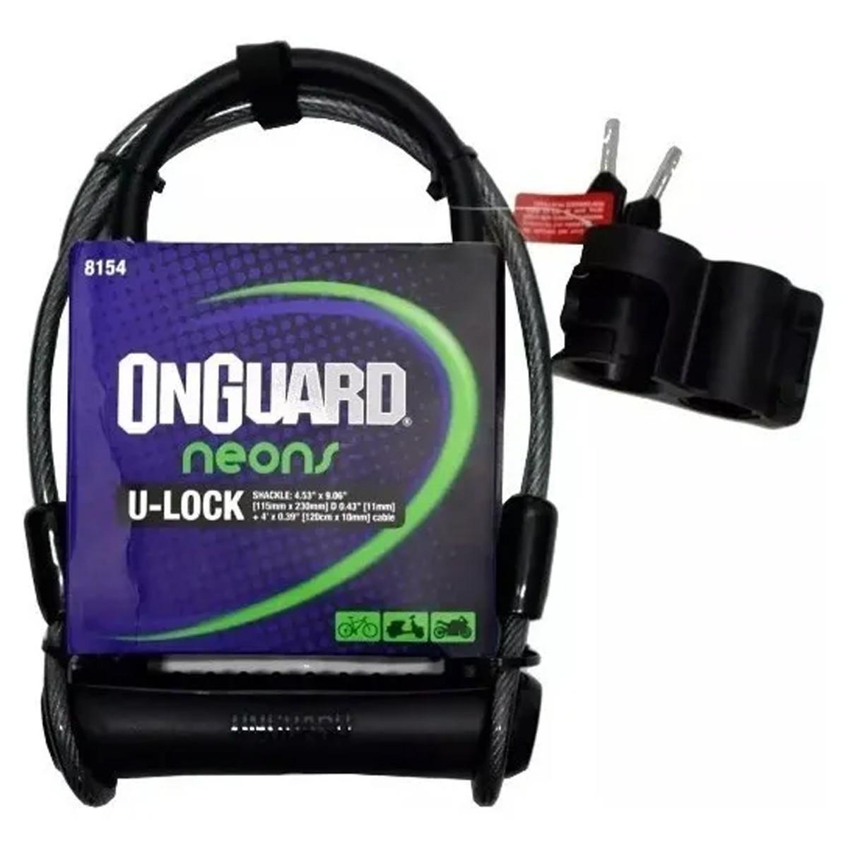 Cadeado Onguard Neon 8154 U-Lock