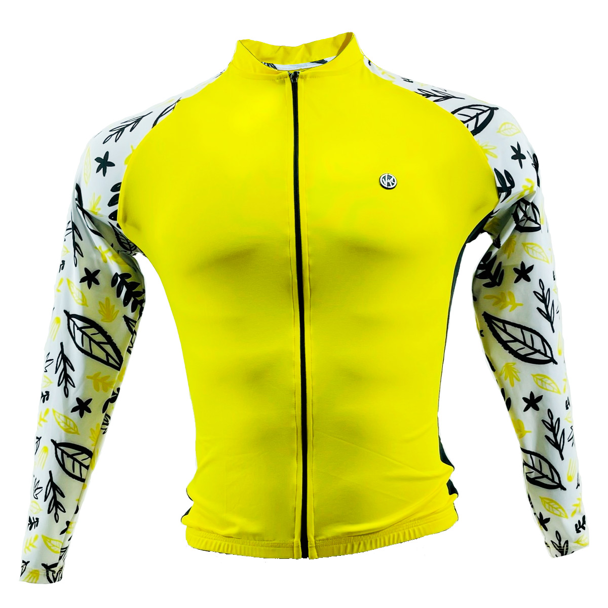 Camisa Manga Longa Velorock Yellow Masculino