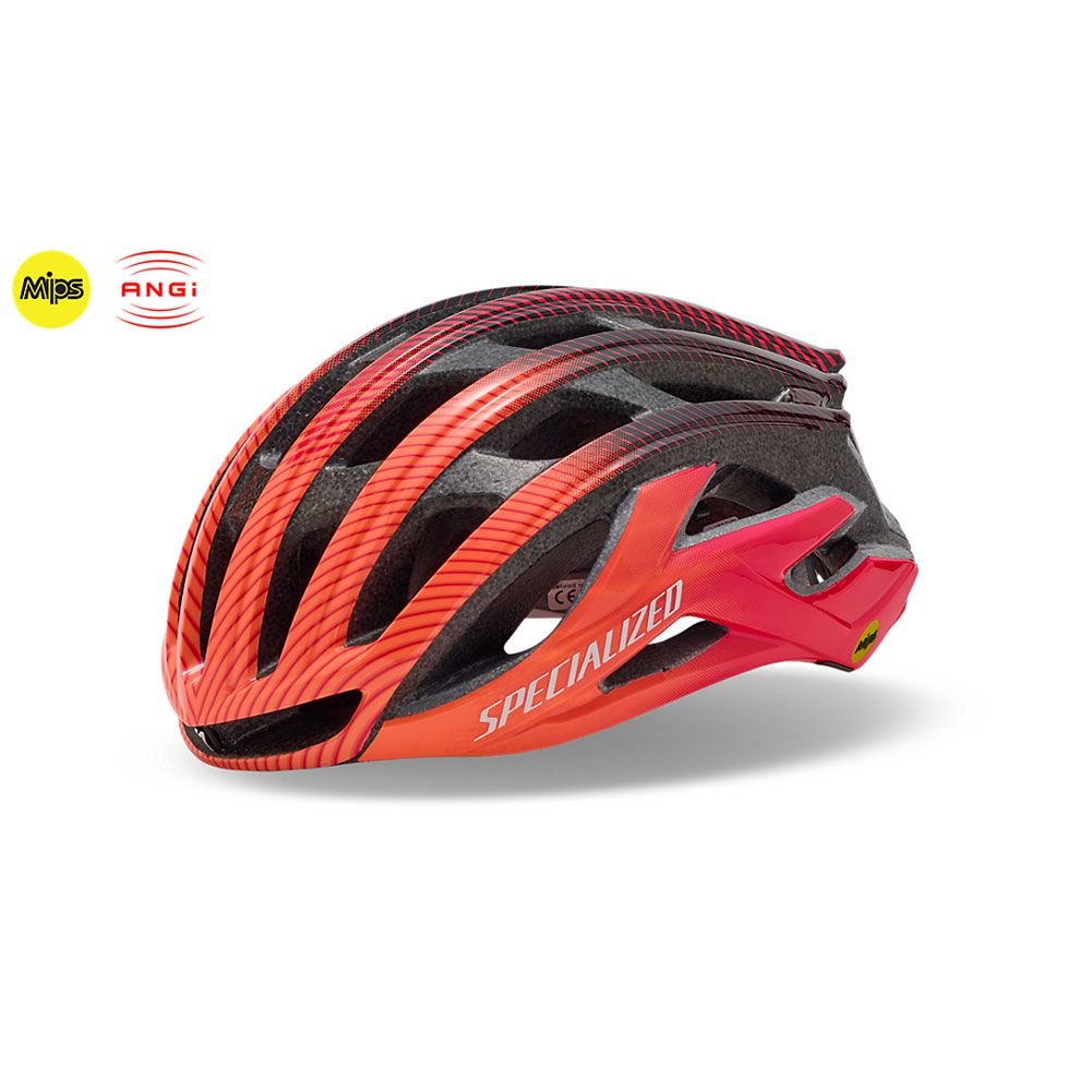 Capacete Specialized S-Works Prevail II c/Angi Edição Limitada Tour Down Under