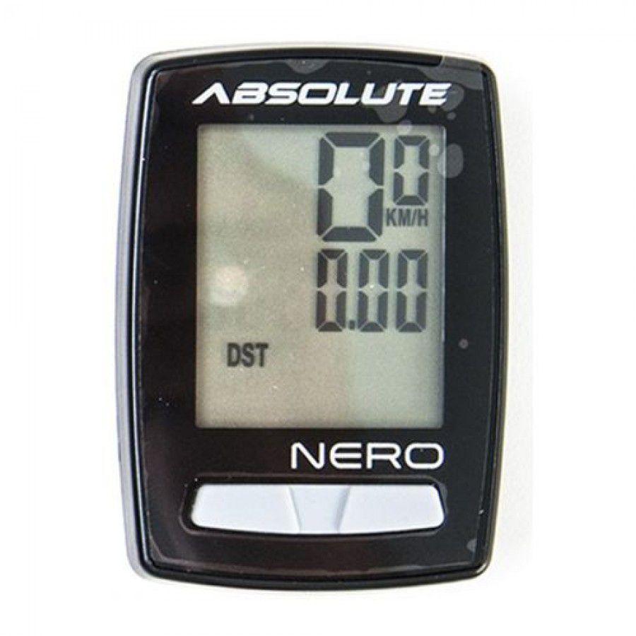 Ciclocomputador Absolute Nero Preto