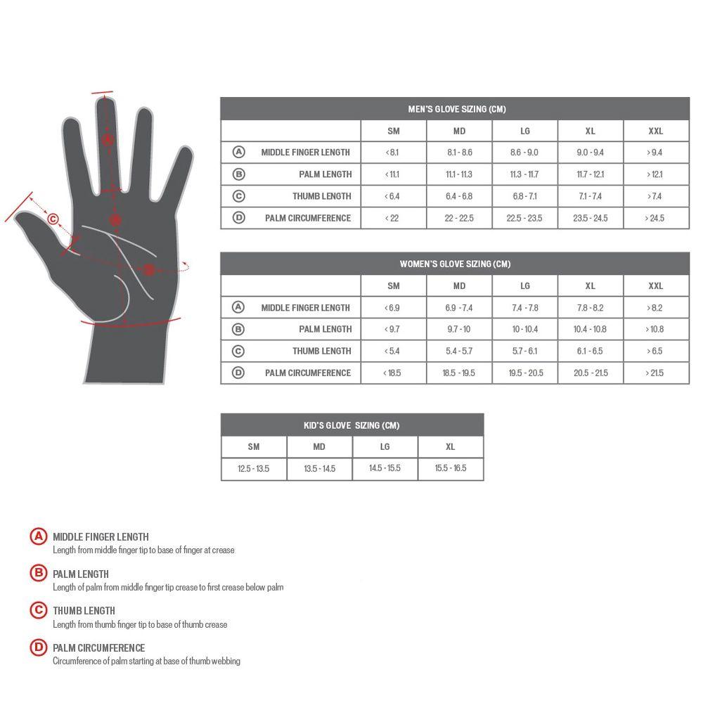 Luva Specialized Body Geometry Dual Gel Dedo Longo Feminina