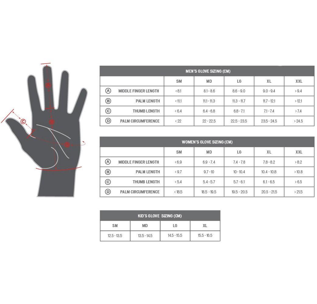 Luva Specialized Body Geometry Sport Dedo Longo Feminina