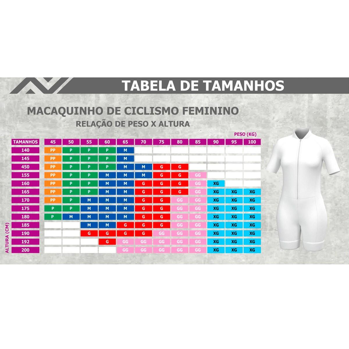 Macaquinho Velorock Tie Dye Feminino