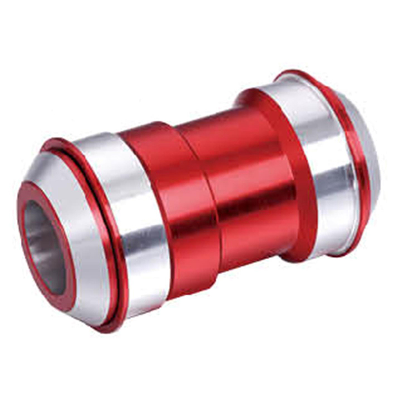 Movimento de Centro Kenli KL-102DF Press Fit BB30 c/ Adaptador BB24 p/Pedivela Hollowtec c/Rol. Selado