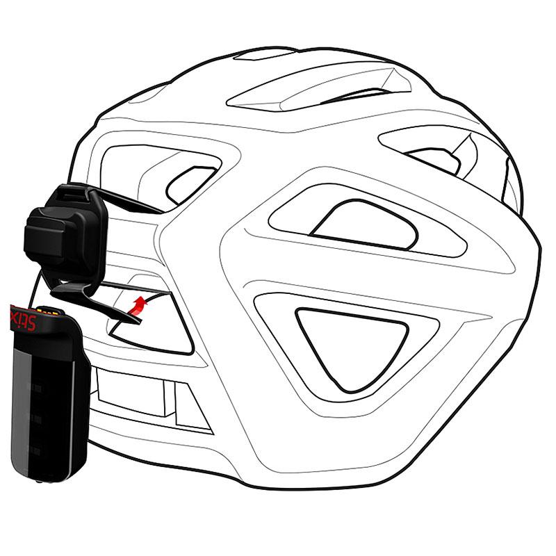 Suporte de reposição Stix para fixação de farol em capacete Specialized