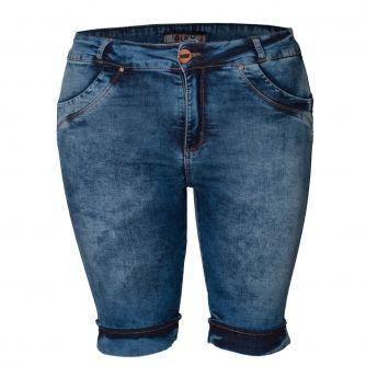 Short Jeans Plus Size Pedal