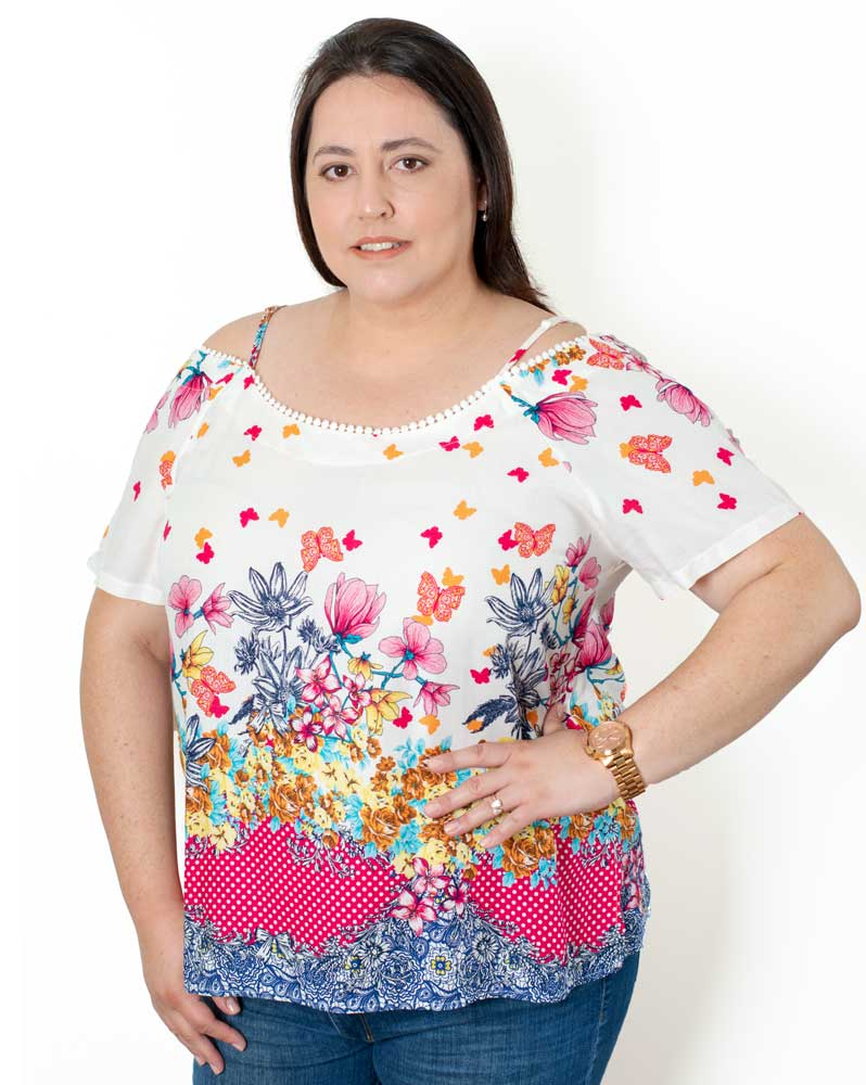 Bata Plus Size Flowers