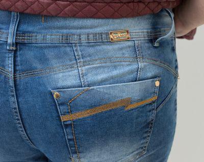 Calça Jeans Plus Size Puidos