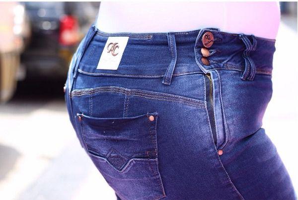 Calça Jeans Plus Size Xtra Charmy