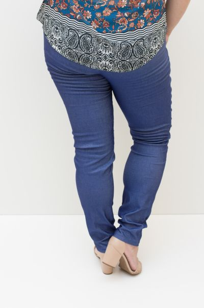 Calca Jeans Plus Size Doce Vida
