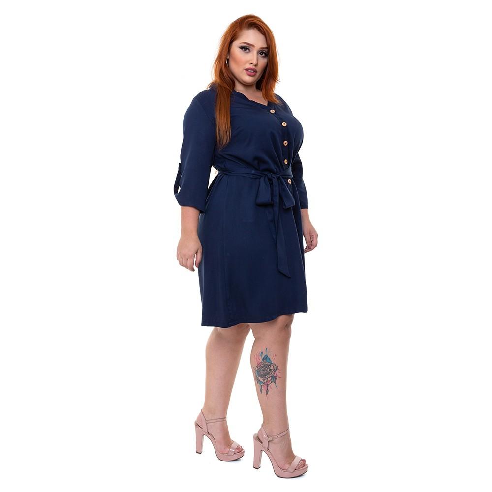 Vestido Chemise Plus Size