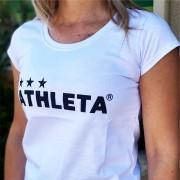 Athleta Basic Feminina - Branca