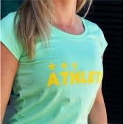 Athleta Basic Feminina - Verde