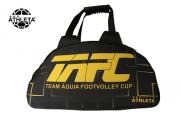Bolsa Athleta TAFC  Preta/Amarelo
