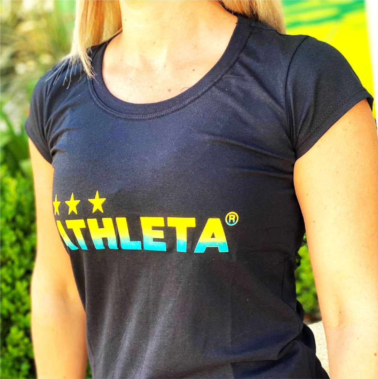 Athleta Basic Feminina - Preta