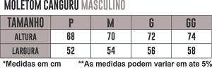 Blusa Moletom Canguru Athleta - Cinza Mescla