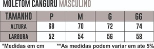 Blusa Moletom Canguru Athleta - Preto