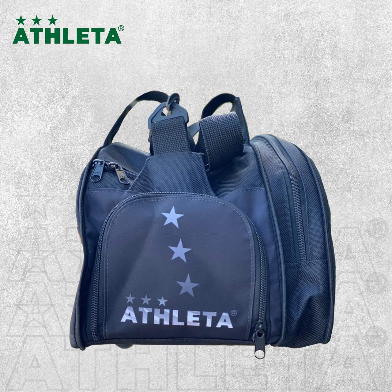 Bolsa Athleta 2021 - Preto com Cinza