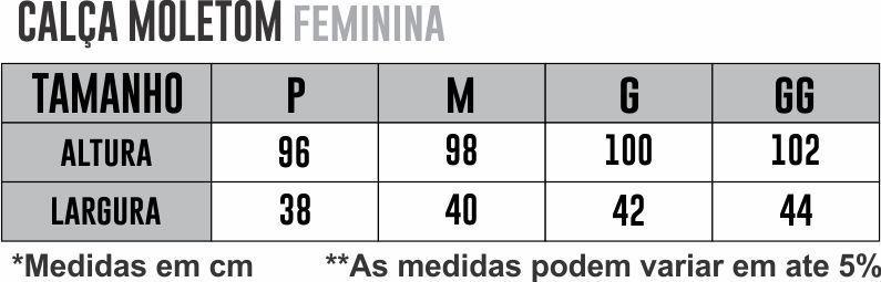 Calça Moletom Athleta  - PRETO