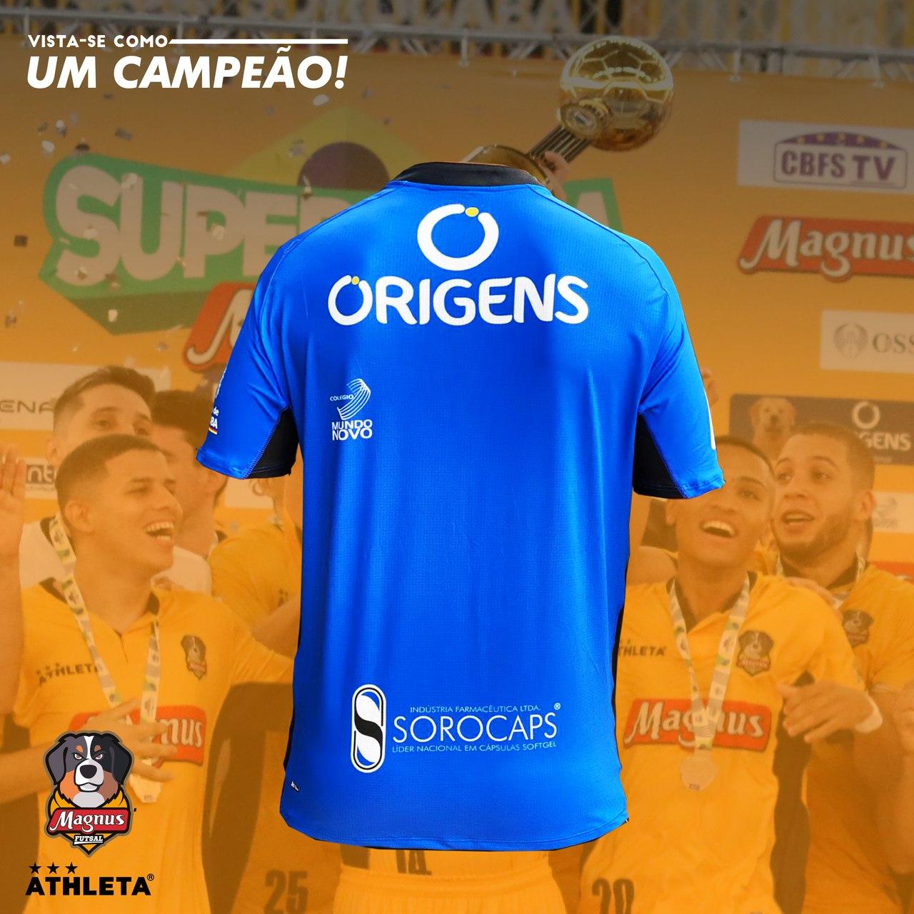 Camisa Magnus Oficial 2021 - Azul - PRÉ VENDA