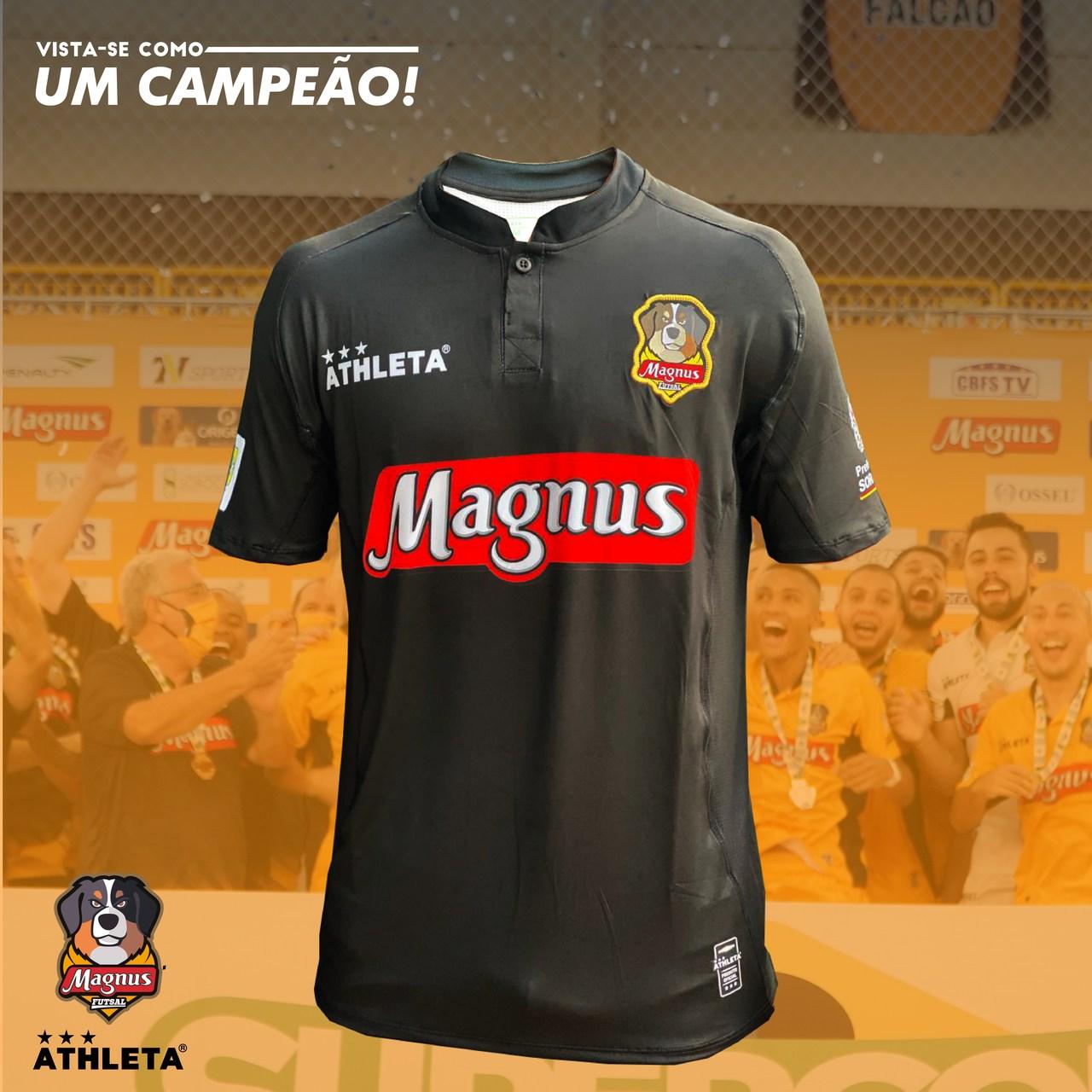 Camisa Magnus Oficial 2021 - Preta - PRÉ VENDA