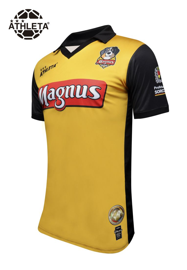 Camisa Réplica Magnus Masculino 2019 Amarela