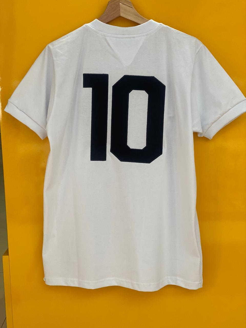 CAMISA SANTOS 1969 - Pele 1.000 Gols