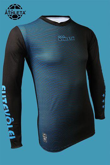Camisa Térmica ML - Azul/Preto