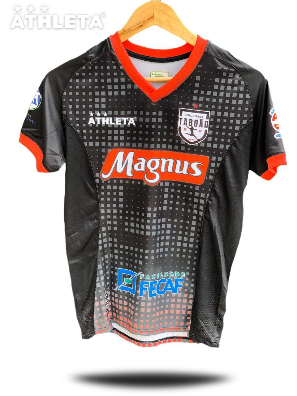 Camisa TORCEDOR Taboão - Preta