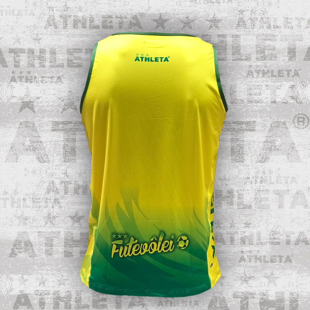 Regata SS21 Inter Coleção Amarelo/Verde