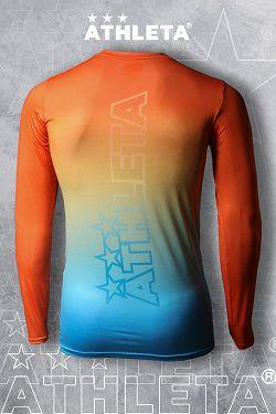 Térmica Linha Athleta Free 20 - Laranja e Azul