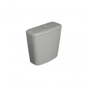 Caixa Acoplada Dual Fast/Spot/Rav/Aspen/Izy Cinza Deca