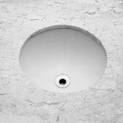 Cuba Embutir Redonda 36,5cm SL - Celite Branco