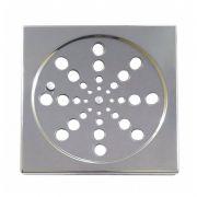 Grelha Quadrada Com Fecho 15 cm Aço Inox Clarinox
