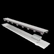 Ralo Linear Elleve Multimaster Tampa Inox 100cm Linear