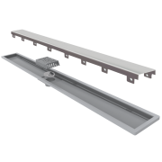 Ralo Linear Elleve Royal Tampa Inox 100cm Linear