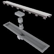 Ralo Linear Elleve Smart Sifonado Tampa Inox 70cm Linear