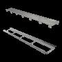 Ralo Linear Elleve Infinity PVC Tampa Oculta 130cm Linear