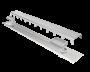 Ralo Linear Elleve Multimaster Tampa Inox 120cm 2 Saídas Linear