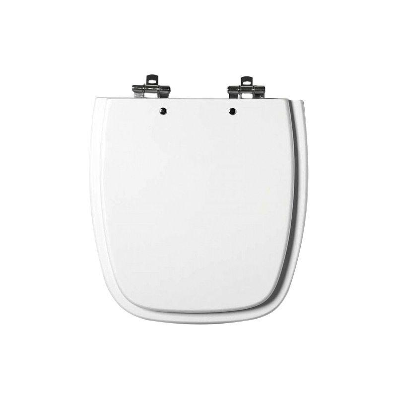 Assento Sanitário MDF Fit/Versato Branco Cromado Tondo