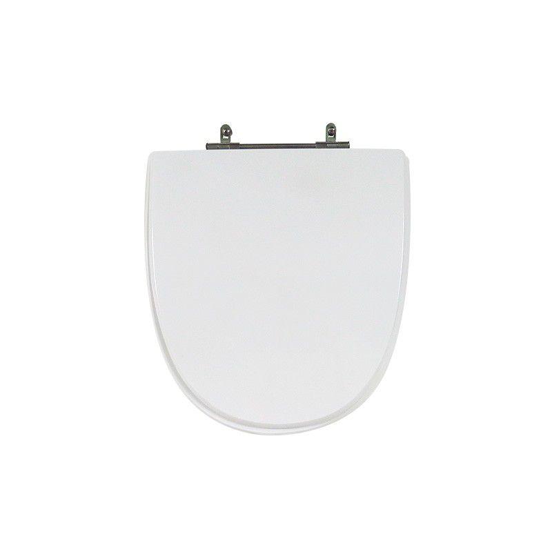 Assento Sanitário Poliéster Para Louça Celite Aloha/UP Liso Branco