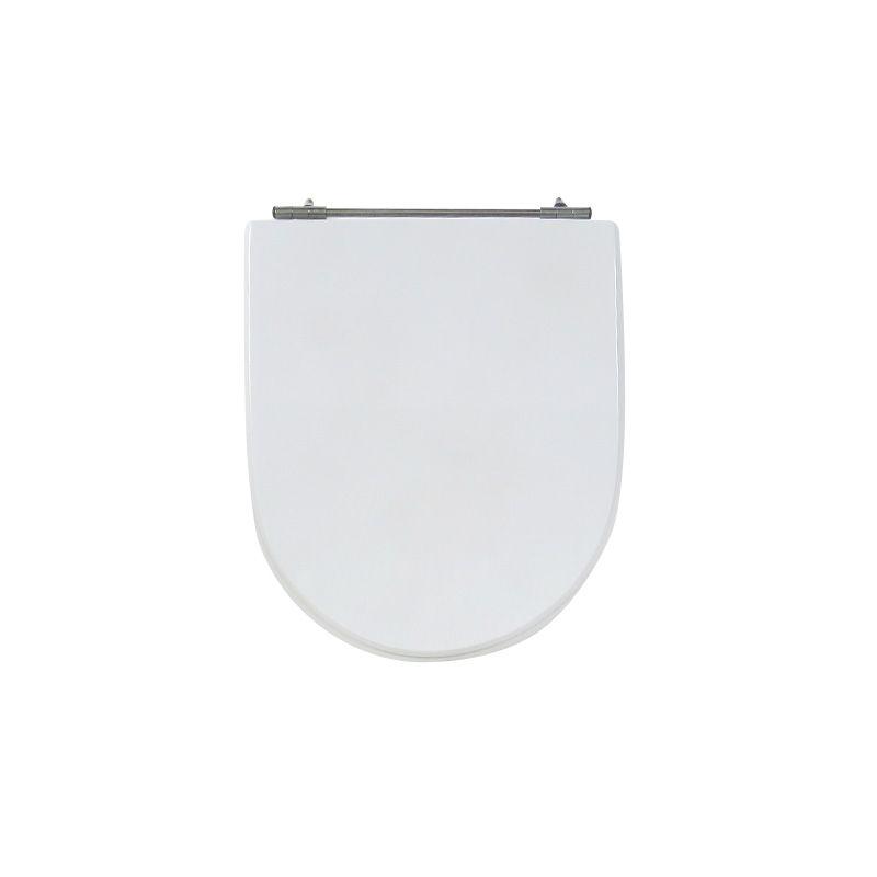 Assento Sanitário Poliéster Para Louça Incepa Calypso Liso Branco