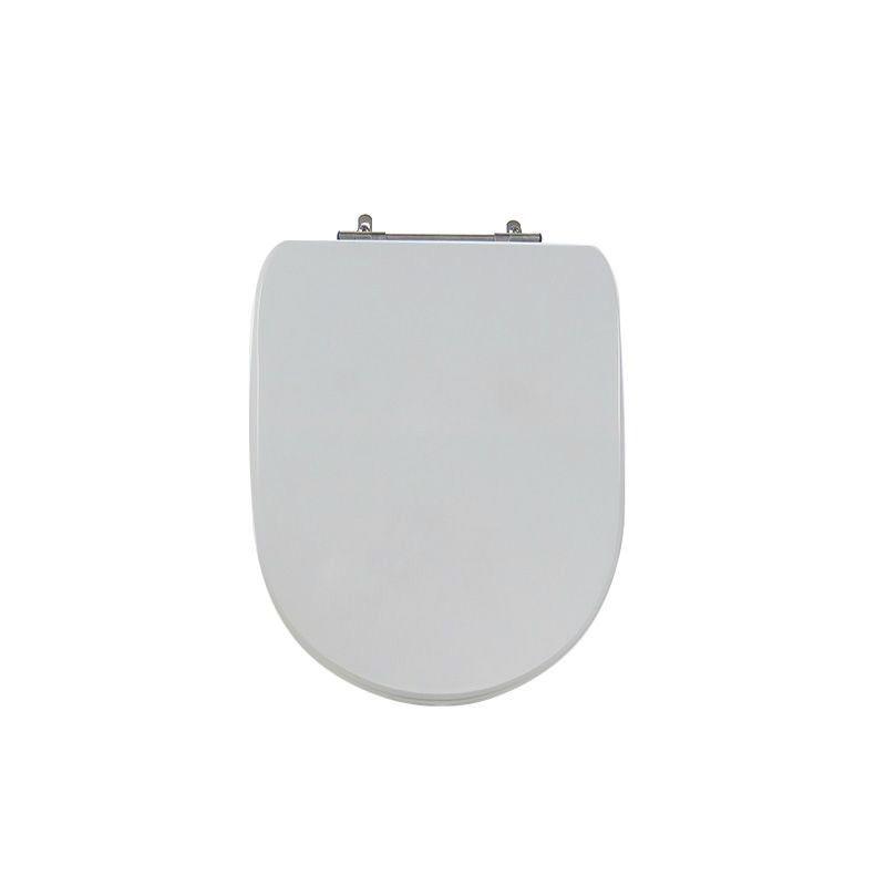 Assento Sanitário Poliéster Para Celite Donna/Sig Bergamin Cinza Prata