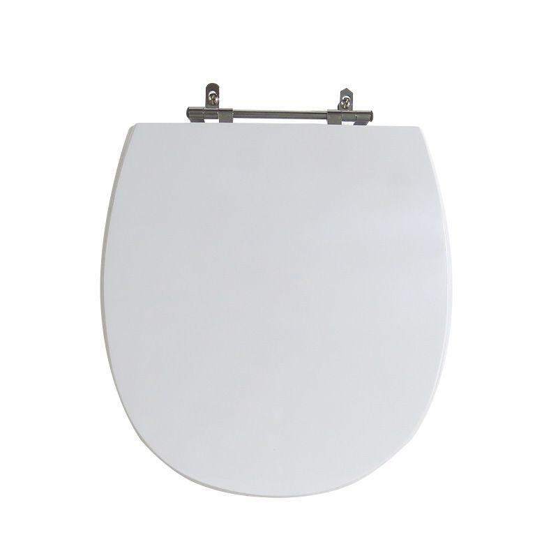 Assento Sanitário Poliéster Para Louça Incepa Mássima Liso Branco
