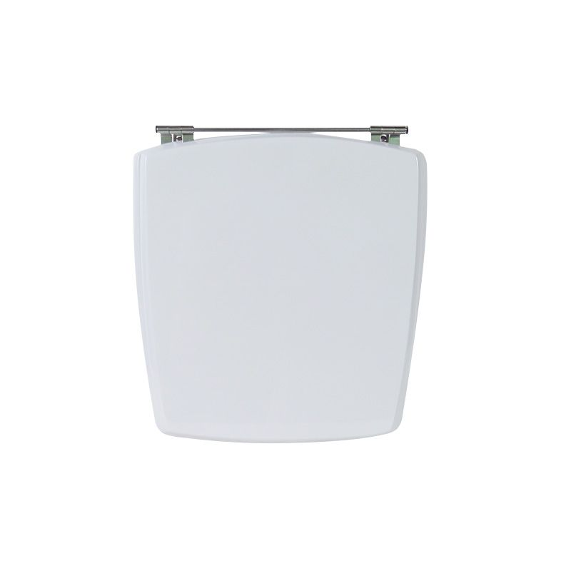 Assento Sanitário Poliéster Para Louça Incepa Nuage Liso Branco