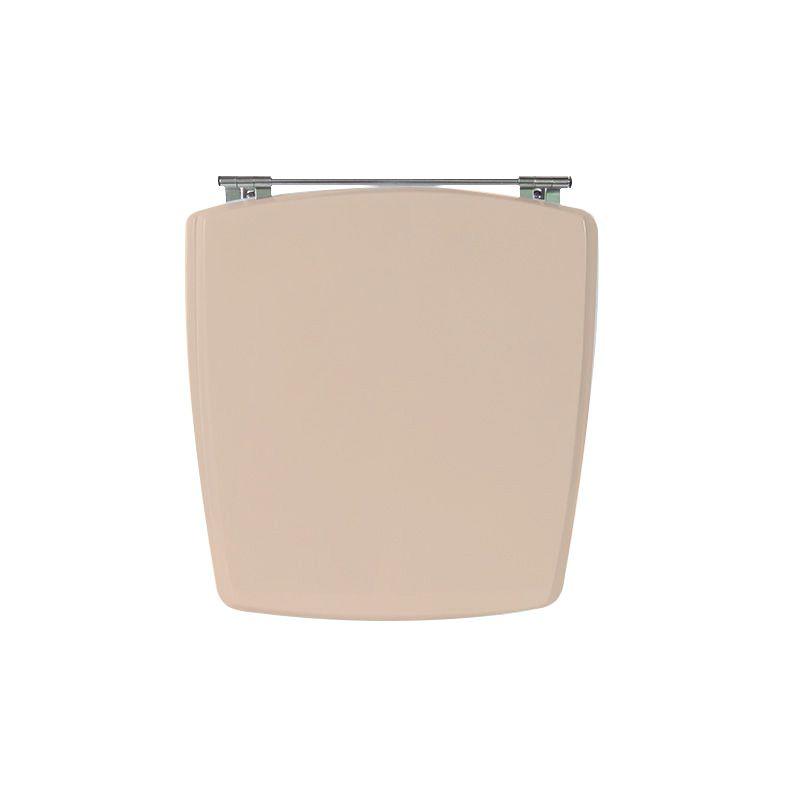 Assento Sanitário Poliéster Para Louça Incepa Nuage Liso Coral