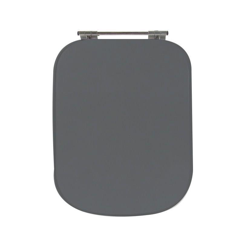 Assento Sanitário Poliéster Para Ideal Standard Tivoli Cinza Quartzo