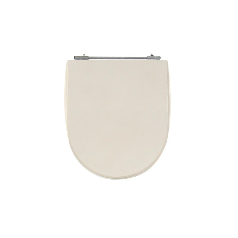 Assento Sanitário Poliéster para Louça Calypso (Incepa) Aço Cromado (Reb. Oculto) Pêssego/Rosa Shell