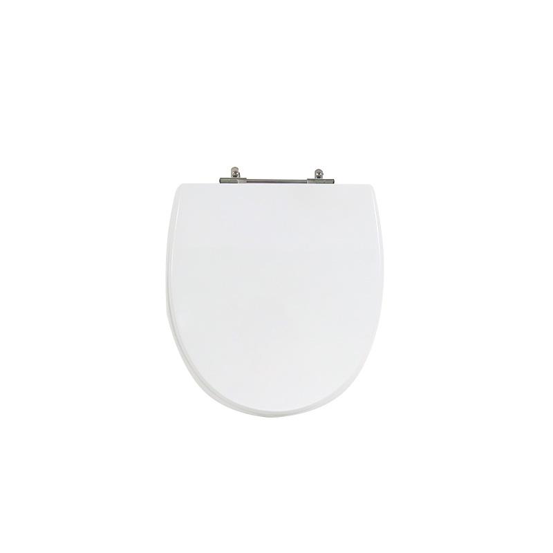 Assento Sanitário Poliéster para Louça Eros (Incepa) Aço (Reb. Oculto) Branco